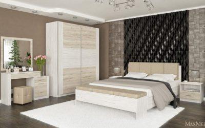 Комфортабельная мебель для спальни от известных брендов